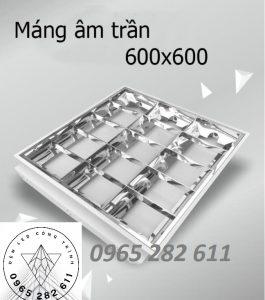 Máng âm trần 600x600